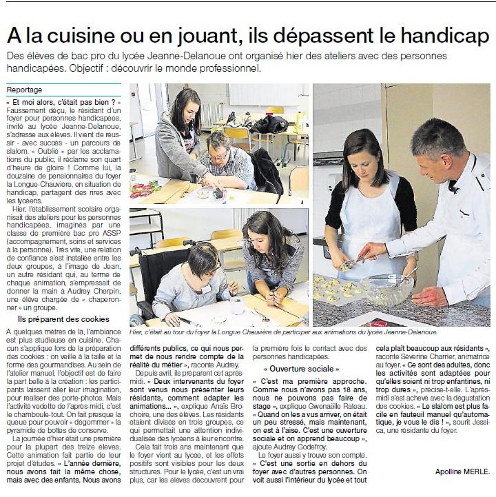 Ouest France du 16 juin 2015